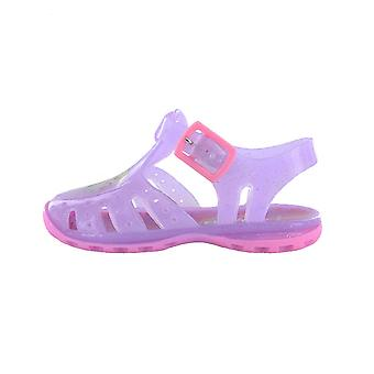 Disney Frozen Lilac Jelly Beach Sandals Kids Sizes 3 to 9