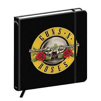 Gewehren N Rosen Notizbuch Classic Logo neue Qualität gebundene Zeitschrift offizielle