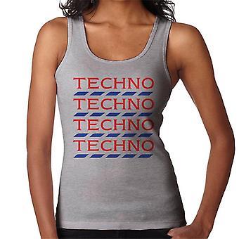 Techno Tesco Logo naisten liivi