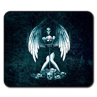 Angel Metal Death  Non-Slip Mouse Mat Pad 24cm x 20cm | Wellcoda