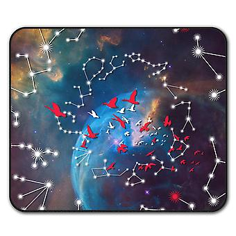 Astrological Star  Non-Slip Mouse Mat Pad 24cm x 20cm | Wellcoda