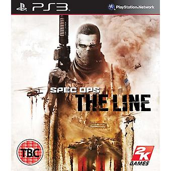 Spec Ops The Line (PS3) - New