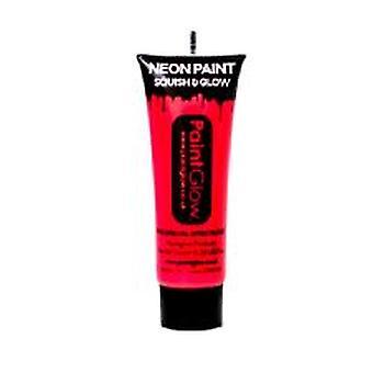 Neon rot UV Gesicht & Körperfarbe