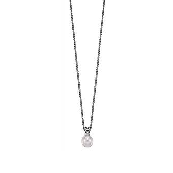 ESPRIT women's chain necklace silver cubic zirconia precious sunset ESNL91921C420