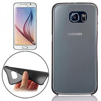 Hardcase negro 0,3 mm ultra delgada caso para Samsung Galaxy S6 G920 G920F