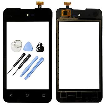 Display touch screen digitizer black-to WIKO sunny
