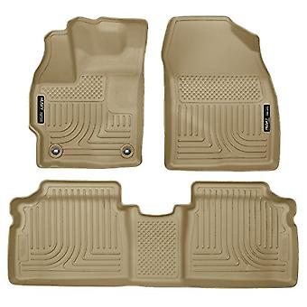 Husky Liners Front & 2nd Seat Floor Liners Fits 2015 Prius Two/Three/Four/Five