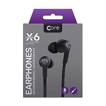 Core - X6 Earphones - Black