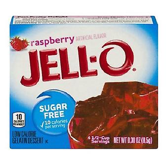 Jell-O zmeura zahar gratuit instant Jello gelatina Mix