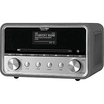 TechniSat DigitRadio 580 DAB+ AUX, Bluetooth, CD, Internet radio, USB Multi-room, Spotify Anthracite