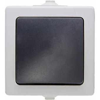 Kopp 565656001 Quarto molhado switch quebradisque de circuito de gama de produtos, interruptor toggle Cinza Nautic