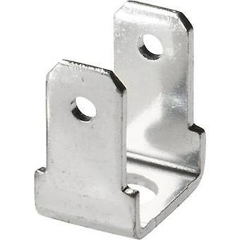 Vogt Verbindungstechnik 3821R90.67 Klinge Connector Stecker Breite: 4,8 mm Stecker Stärke: 0,8 mm 90 °, 90 ° nicht isoliert Metall 1 PC