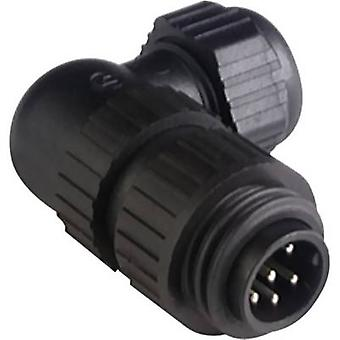 Hirschmann 934 130-100-1 CA 6 W LS CA Series Mains Tensge Connector Corrente nominal (detalhes): 10 A/AC/DC Número de pinos: 6 + PE