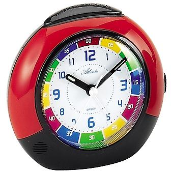 Quartz alarm clock kids kids alarm clock quartz red creeping second light function