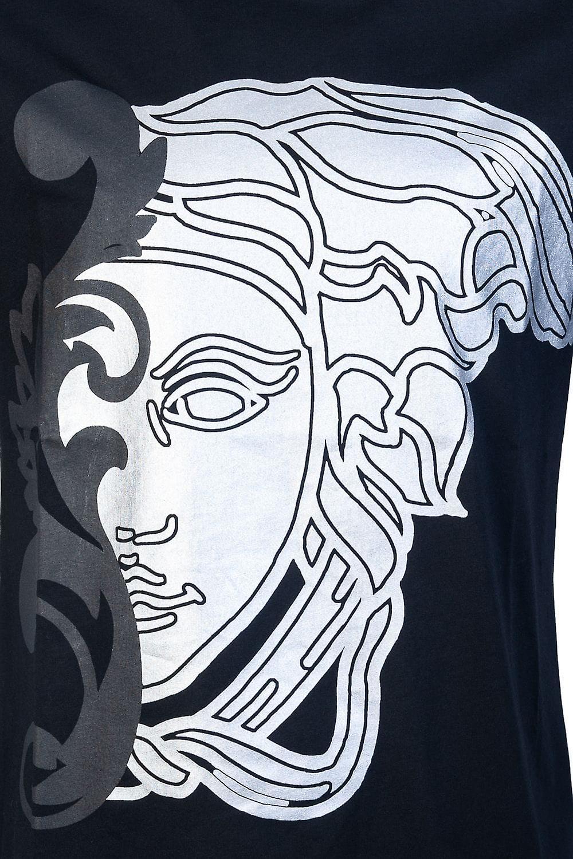 Versace Round Neck T Shirt V800683R VJ00522