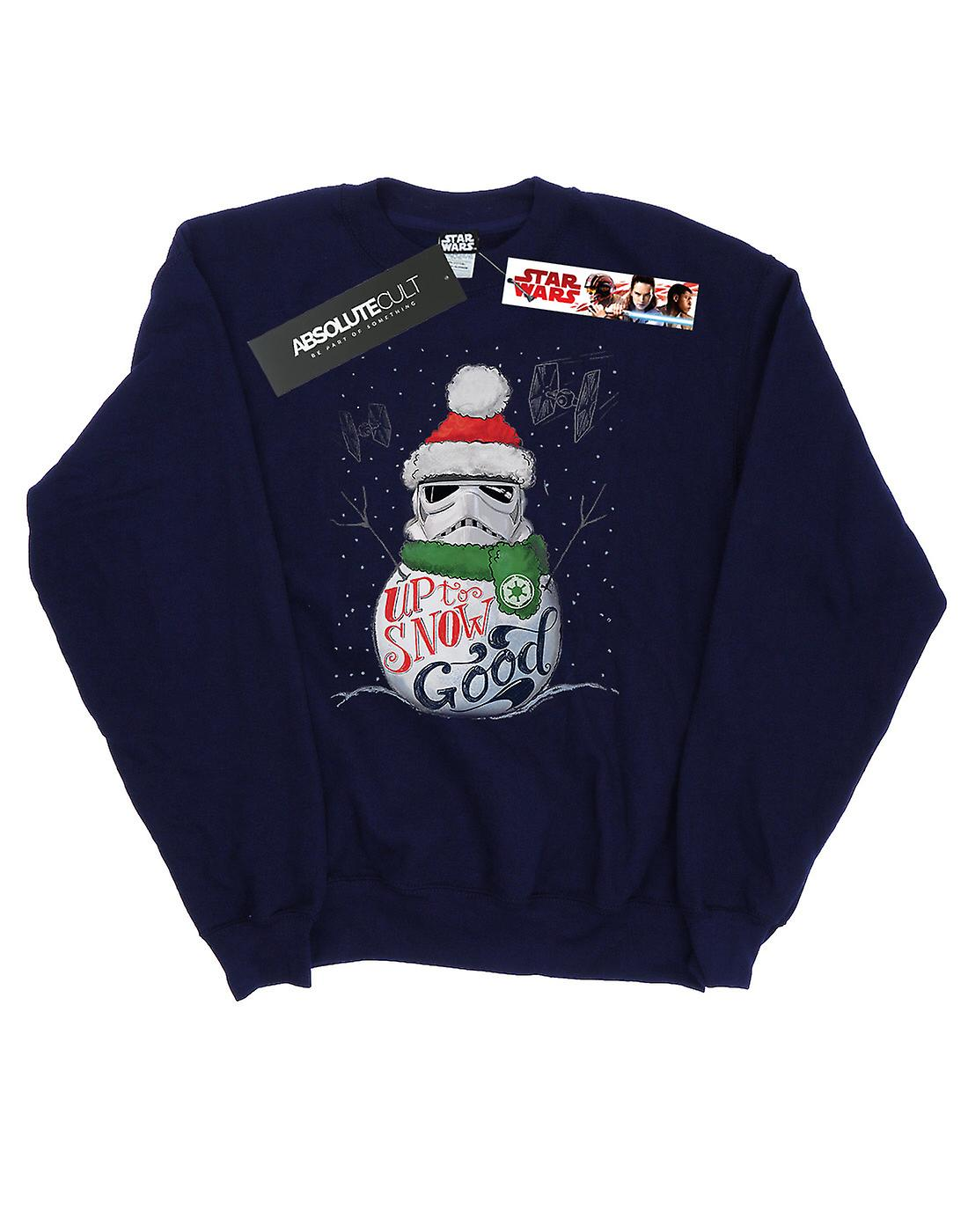 Star Wars Men's Stormtrooper Up To Snow Good Sweatshirt