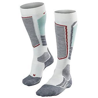 Falke Skiing 2 Medium Knee High Socks - White