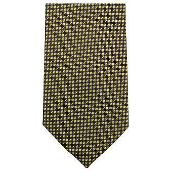 Knightsbridge Neckwear liten tvers Tie - gul