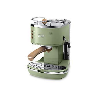 DeLonghi ECOV311. GR-Espresso Maschine 1,4 L 1100W grün