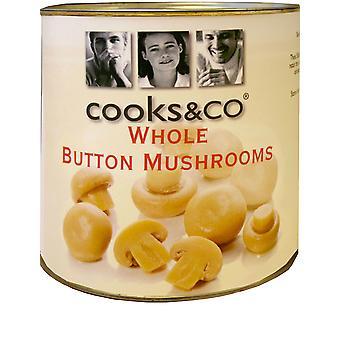 Cooks & Co Whole Button Mushrooms