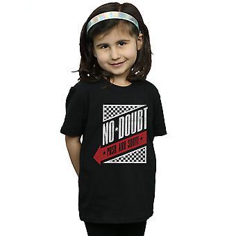 No Doubt Girls Raceway Logo T-Shirt