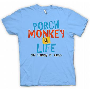 Kids T-shirt - Porch Monkey 4 Life - Clerks Inspired