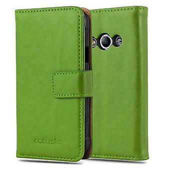 Cadorabo sag for Samsung Galaxy Xcover 3 sag dække - telefon sag med magnetisk lås, stå funktion og kortrum - Sag Cover Beskyttende sag bog Foldestil