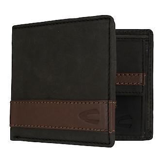 Sac à main camel active mens wallet portefeuille avec puce RFID protection noir 7306