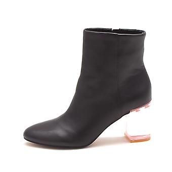 INC International Concepts Womens Georgiee Leather Closed Toe Ankle Fashion Boots