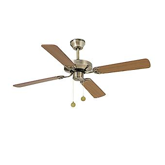 Faro - Yakarta Medium antik messing loft Fan med / uden lys FARO33711