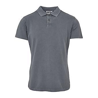 Urban classics men's garment dye Pique Polo Shirt