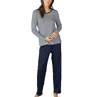 Paula Mey 14951 la femme ensemble Pyjama de coton à rayures