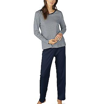 Mey 14951 Kvinder's Paula Stribet Bomuld Pyjamas Sæt