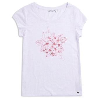 Animal Rolling Rain Kortermet T-skjorte i hvitt