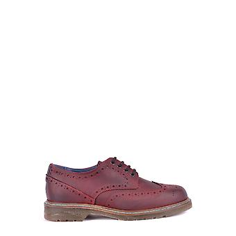 Philippe Modelo Ezbc019008 Men's Burgundy Leather Lace-up Shoes