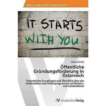 ffentliche Grndungsfrderung in Österreich par Schlegl Markus