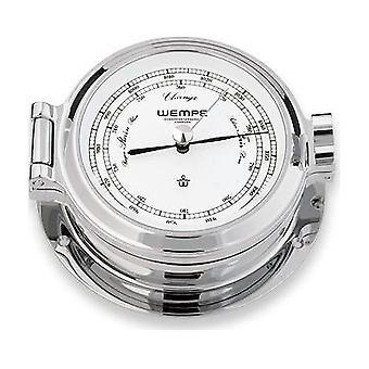 Wempe chronometer works nautical porthole barometer CW110002