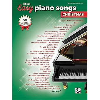 Alfred's Easy Piano Songs -- Christmas - 50 Christmas Favorites - 9781