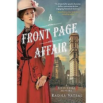 A Front Page Affair by Radha Vatsal - 9781492632665 Book