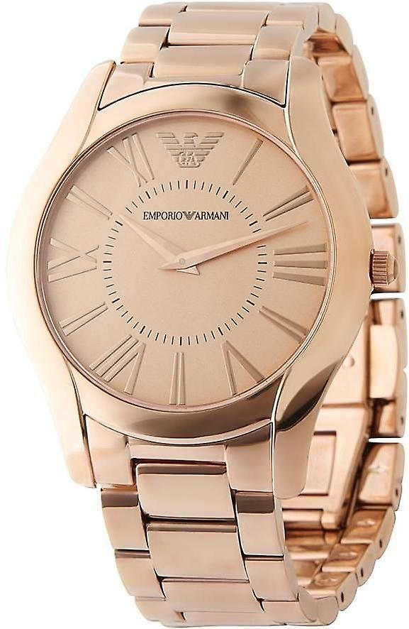 Emporio Armani Ar2061 Classic Rose-gold Stainless Steel Men's Watch