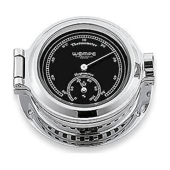 Wempe chronometer works nautical poroflu-thermal hygrometer CW110012