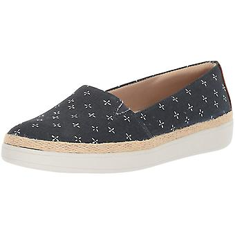 Trotters Womens Accemt Closed Toe Slide Flats