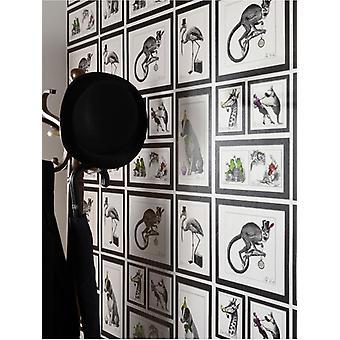 Perros locos enmarcados animales wallpaper Holden 97921