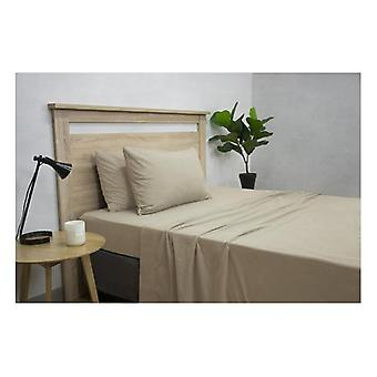 Apartmento Micro Flannel Taupe Sheet Set