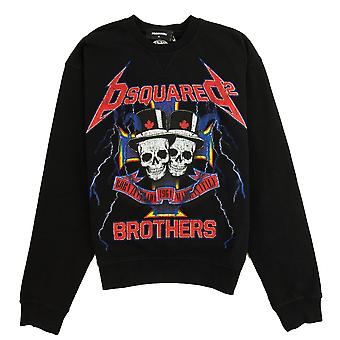 Dsquared2 skull Brothers Sweatshirt svart 900