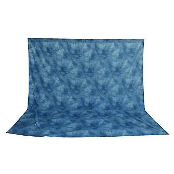 BRESSER BR-6103 tvättbar bakgrunds duk med mönster 3x6m