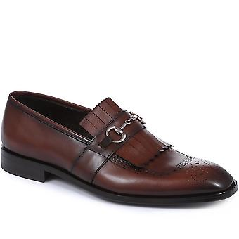 Leather loafer - corre