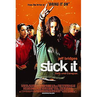 Stick It (Double Sided Regular) (Uv Coated/High Gloss) Original Cinema Poster