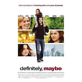 Definetely, Peut-être (Double Sided Regular) Original Cinema Poster