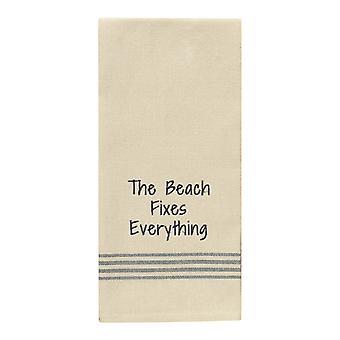 Plaży poprawki wszystko mąki worek danie kuchni paski ręcznik 28 cali
